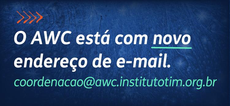 AWC - novo e-mail